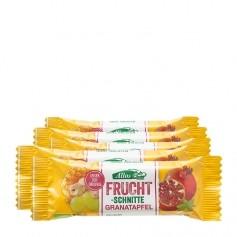 5 x Allos Fruchtschnitte Granatapfel