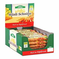 Allos Hildegards Müsli Schnitte Box