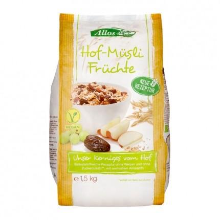 Bio Hof-Müsli, Früchte (1500 g)