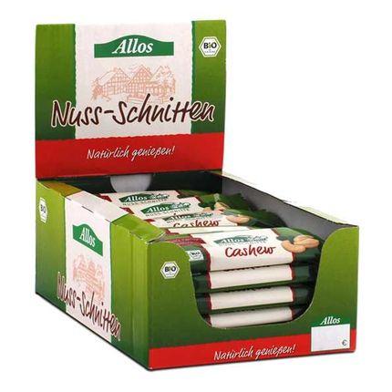 Allos Nuss-Schnitte Cashew Box