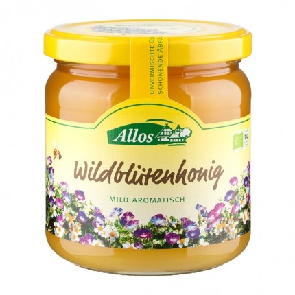 Allos Bio Wildblütenhonig