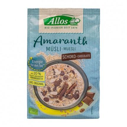 Allos Amarant Choklad-Müsli