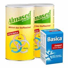 Almased Ausgleich Paket: Doppelpack Vitalkost + Basica Compact