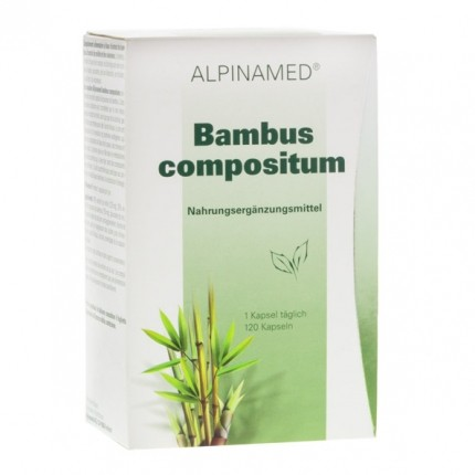 Alpinamed Bambus compositum mit Hirse, Kapseln