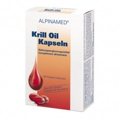 Alpinamed, Huile de krill, gélules