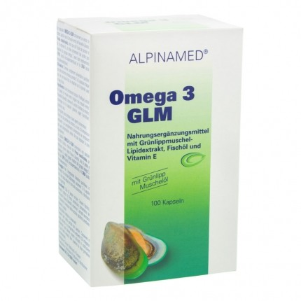 Alpinamed Omega 3-GLM Kapseln mit Grünlippmuschel