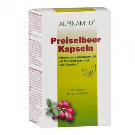 Alpinamed Preiselbeer Kapseln