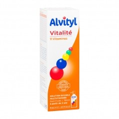 Alvityl solution multivitaminée