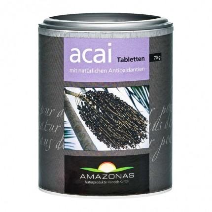 Amazonas, Açaï comprimés à sucer à l'acerola