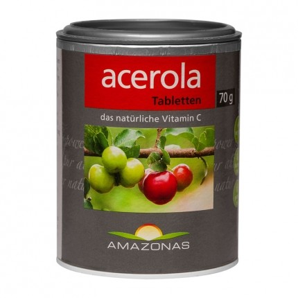 Amazonas, Acerola comprimés à sucer