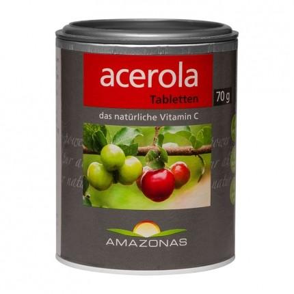 AMAZONAS Naturprodukte Acerola (120 Lutschtabletten)
