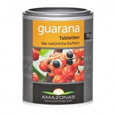Amazonas Guarana tabletter