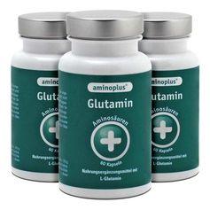 3 x Aminoplus Glutamin, Kapseln