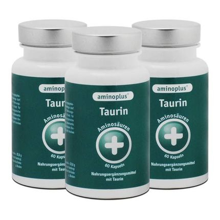 3 x Aminoplus Taurin, Kapseln