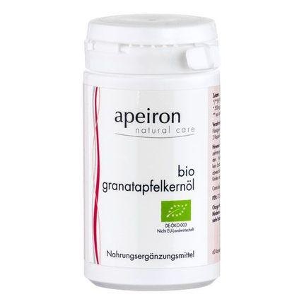 Apeiron Bio Granatäpplekärnolja, kapslar
