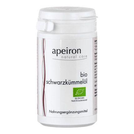 Apeiron Organic Black Seed Oil Capsules