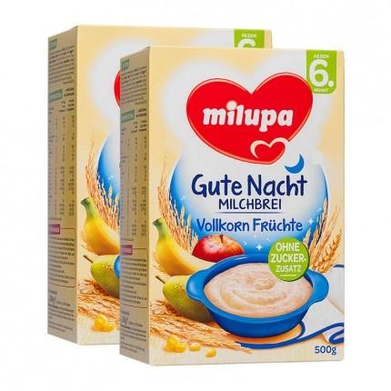 Milupa Aptamil Milchbrei Vollkorn-Feine Frucht, Pulver (2 x 250 g)