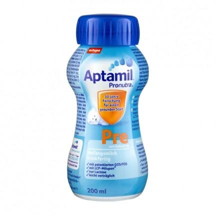 Aptamil Pre Anfangsmilch, trinkfertig (200 ml)