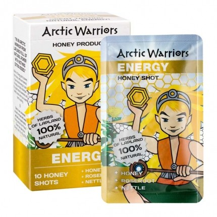 Arctic Warriors Box of 10 Energy