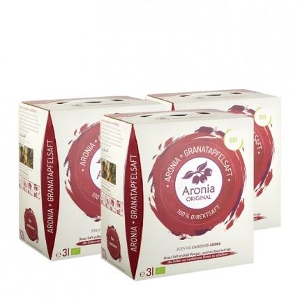 Bio Aronia + Granatapfelsaft (3000 ml)