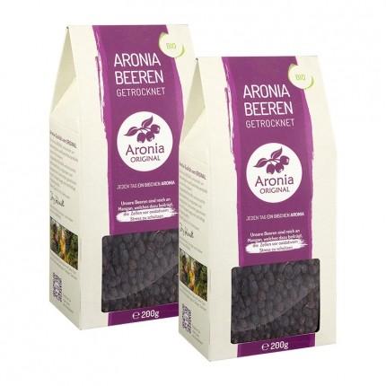Aronia Original Bio Aroniabeeren getrocknet Doppelpack