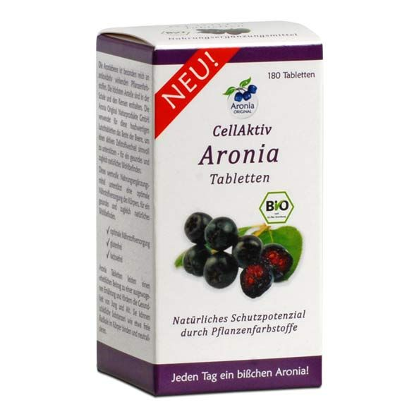aronia original cellaktiv aronia tabletten g nstig kaufen. Black Bedroom Furniture Sets. Home Design Ideas