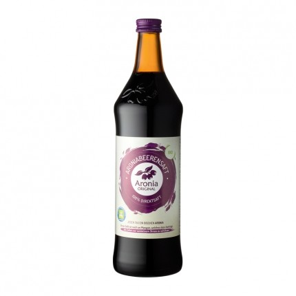 3 x Aronia Original økologisk, ferskpresset svartsurbær-juice