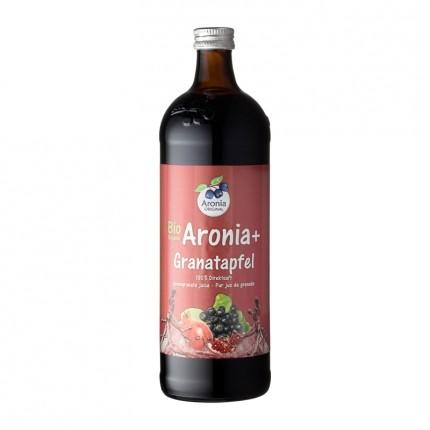 Aronia Original økologiske svartsurbær og granateple - 100 % ferskpresset juice