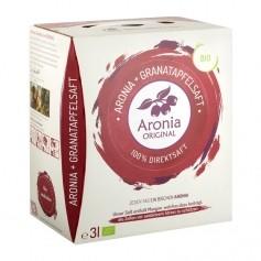 Aronia Original økologiske svartsurbær og granateple - 100 % ferskpresset juice - månedspakke