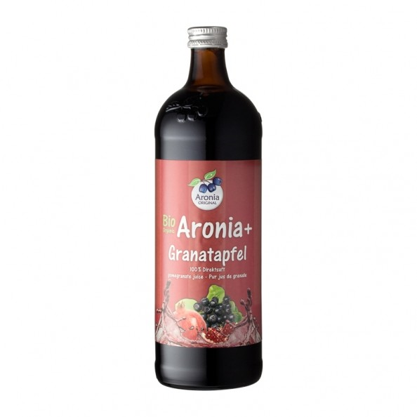 Organic Aronia Pomegranate 100 Native Juice Vitamin C