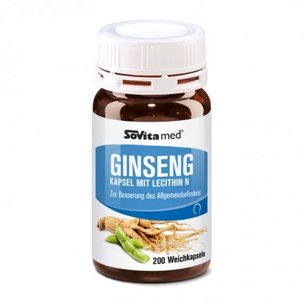 asco Ginseng Capsules with Lecithin