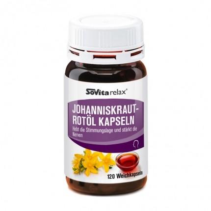 asco Johanniskraut-Rotöl (120 Kapseln)