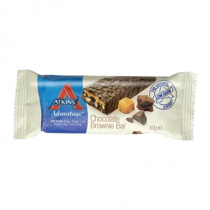 5 x Atkins Advantage chocolate brownie