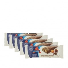 Atkins Advantage, barre chocolatée low-carb goût brownie, lot de 5