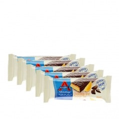 Atkins Advantage, Barre chocolatée low-carb à l'orange, lot de 5