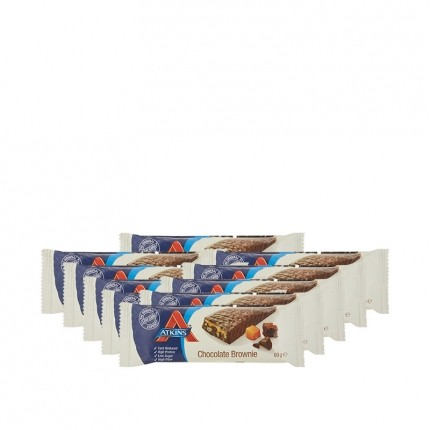 10 x Atkins Advantage Chocolate Brownie Bar, Riegel