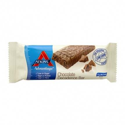 5 x Atkins Advantage Chocolate Decadence Bar, Riegel
