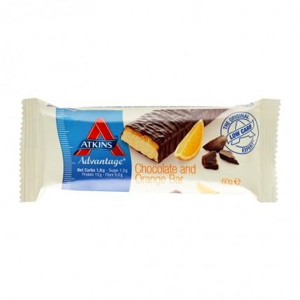 10 x Atkins Advantage Chocolate Orange Bar, Riegel
