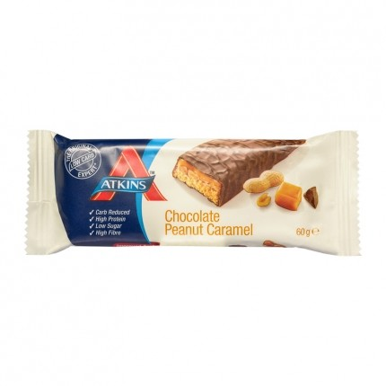 10 x Atkins Advantage Chocolate Peanut Caramel Bar, Riegel