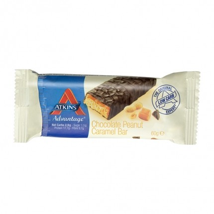 Atkins Advantage chocolate peanut caramel 60g