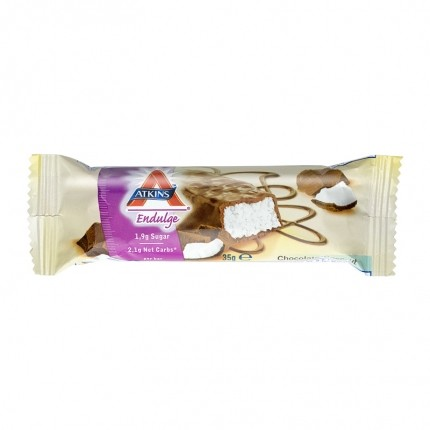 5 x Atkins Endulge bar chocolate coconut