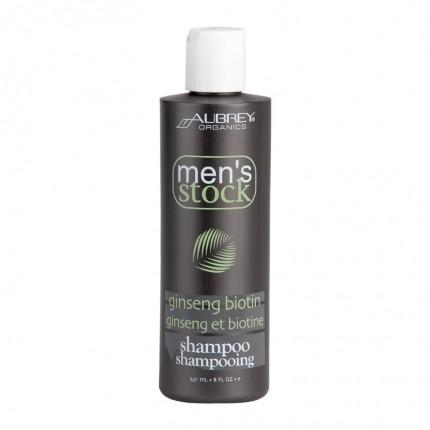 Aubrey Organics Men' Stock Ginseng/Biotin Shampoo