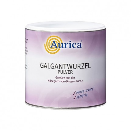 Aurica Hildegard von Bingen Galgantwurzel, Pulver