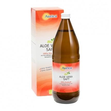 Aurica Aloe Vera Saft Bio