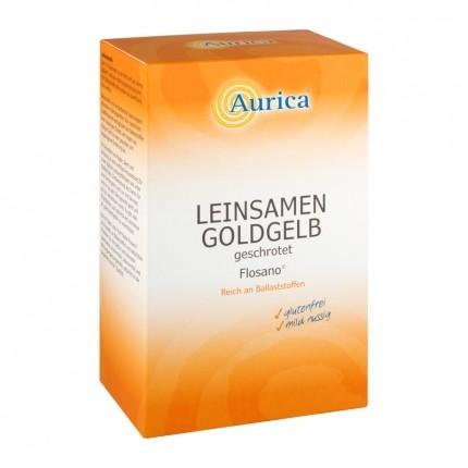 Leinsamen gold geschrotet von Aurica