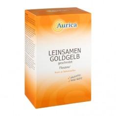 Aurica Leinsamen gelb, geschrotet