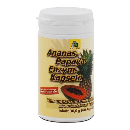 Avitale Ananas-Papaya-Enzym Kapseln