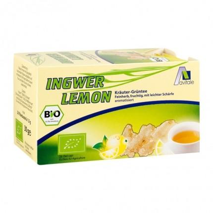 Avitale Bio Ingwer Lemon Tee