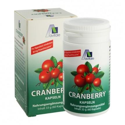 Avitale Cranberry 400 mg, kapslar