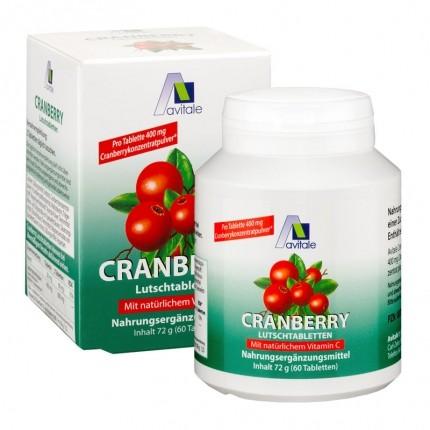 Avitale Cranberry (60 Lutschtabletten)